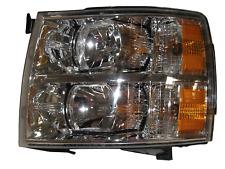 07 08 09 10 11 12 13 Silverado Left Driver Headlight Headlamp Lamp Light