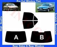 Pellicola Oscurante Vetri Auto Pre-Tagliata Peugeot 406 4P 1995-2004 da5% a50%