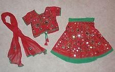 India Traditionl Party Wedding Lehenga Choli Dupatta Jaipuri Rajasthani Girl 5/6