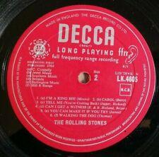 Rolling Stones LP Same 1st LP UK Unboxed Decca Mono 1st Press 1A 3A
