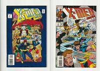 X-Men 2099 #1& 2 October 1993 Marvel Comics Foil Cover NM