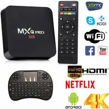 Smart TV BOX MXq Pro Android Mini PC Quad Core WiFi 1Gb 8Gb 4K*2K 1080P IPTV