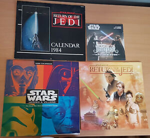 Star Wars - 4 Calendars (1984, 2x1999 & 2017)