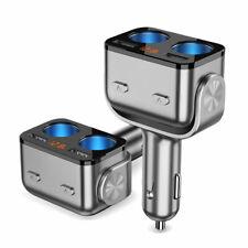 12V USB Car Charger Auto Cigarette Lighter Socket Splitter QC3.0 for Phone DVR