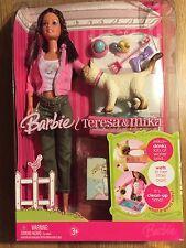 Barbie Teresa & Mika Doll and Cat Set 2006 Retired NIB NRFB