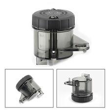 1x Moto Black Front Brake Clutch Master Cylinder Fluid Reservoir Oil Tank Cup
