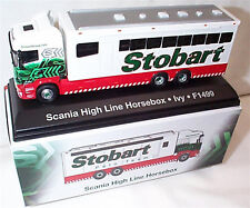 EDDIE STOBART POLO TEAM SCANIA HIGH LINE HORSEBOX IVY 1:76 New Boxed