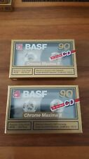 BASF Kassetten Chrome Maxima II, neu new originalverpackt sealed cassettes Retro
