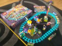 Großes Set Lego Friends riesiger Freizeitpark mit Achterbahn mit OVP OBA 41130