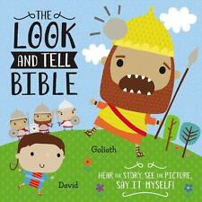 THE LOOK AND TELL BIBLE - TOMMY NELSON (COR)/ MACHELL, DAWN (ILT) - NEW BOOK