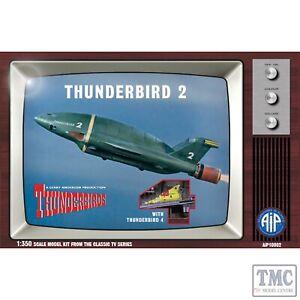 AIP10002 1:350 Scale Thunderbird 2 with Thunderbird 4 AIP Classic Thunderbirds