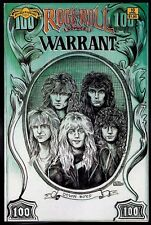 Rock n Roll Comics 10 NM 9.4 Warrant Whitesnake 1990 Revolutionary Uncertified