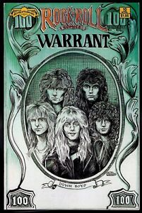Rock n Roll Comics 10 NM 9.4 Warrant Whitesnake 1990 Revolutionary Uncertified