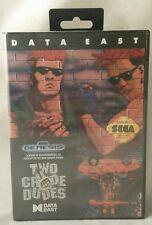 Two Crude Dudes (Sega Genesis, 1991) Brand New, Sealed