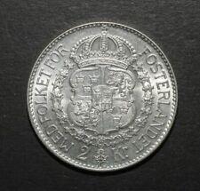 More details for sweden 1935 2 krone. unc
