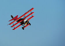 1/12 Scale Electric German WW-I Fokker Dr-1 Triplane Plans, Templates, Inst 25ws