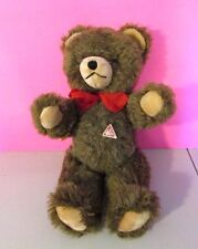 """Vintage Element Spieltiere West Germany Mohair Jointed Teddy Bear W Tag 16"""""""