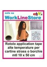 APPLICATION TAPE X STRASS IN CARTA - 10 MTL H 50 CM