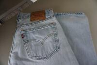 Levis Levis´s 501 Herren Men Jeans Hose 31/34 W31 L34 stonewashed blau Top ad34