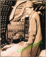 Rare Photo HOWARD HUGHES Inside H-4 HERCULES Spruce Goose Flying Boat OCT 1947