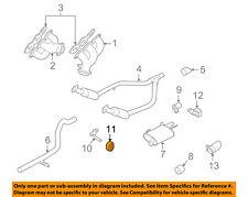 FORD OEM 05-10 Mustang 4.0L-V6 Exhaust-Muffler Insulator 4R3Z5A262AA