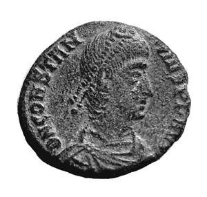 ANCIENT ROMAN COIN - CONSTANTIUS II. 317-361AD - FEL TEMP REPARATIO   #322
