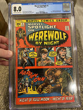 Marvel Spotlight #2 CGC 8.0. First Appearance Of Werewolf By Night. Gorgeous!