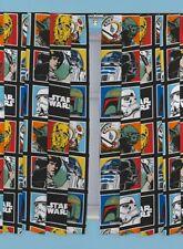 Pack 2 Cortinas Star Wars 168x183 cm cada una.
