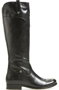 FRYE  'Melissa Tab' Knee High Boot Size 9 Black  MSRP  $428