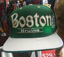 Boston Bruins Green Snap Back Hat by Reebok