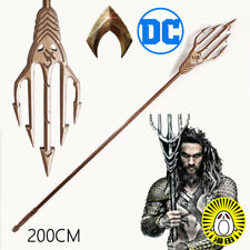 Justice League Aquaman Arthur Curry Cosplay Prop Trident Weapon 200CM