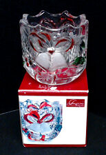 CELEBRATIONS by MIKASA CHRISTMAS HOLIDAY BELLS COLLECTION VOTIVE HOLDER ~ NIB