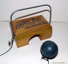 Happy Ball * Vintage Francese gioco all'aperto * Retro * NO pipistrelli *