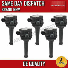 VOLVO S60,C70,S70,S80,V70 IGNITION COIL X5 PENCIL COIL 2000>2010 *BRAND NEW*