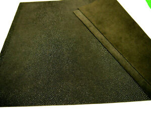 """Stingray leather panels 3 colors 18"""" x 24"""" first Quality for ( 1 ) piece"""