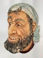 Vintage - Chalkware Bust - Made in England - Legend Products - Corsair