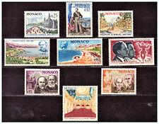 "MONACO: 1966 Sc: MC 631 - 638 & C68 ""Monte Carlo 100 Years"" MLH Set"