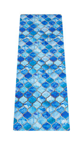 Yoga Mat Exercise Fitness Pilates Gym Workout Non Slip Mats 3mm - Moroccan Dream
