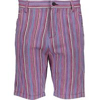 LOVE MOSCHINO Mens Purple Stripe Shorts - Size W33