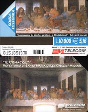 PUBBLICA FIGURATA _  MILANO IL CENACOLO - C&C 3178 GOLDEN 1088 - USATA