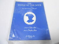 1963 (NOS) WINGS OF THE DOVE vintage music song book