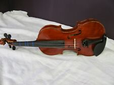 Black Mountain 1/2 Size Violin, Quality One Piece Back, Glasser BowCarrying Case