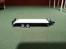 1:64 Scale Scratch Styrene 22ft Tag Trailer, Jack Base Screws Up/Down