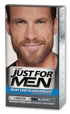 Just pour hommes soin pinceau-en-couleur-Gel Gel de bart Brun clair pour