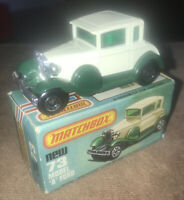 Matchbox No.73C Ford Model A creme & green Boxed