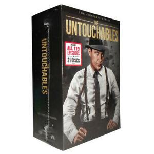 The Untouchables Complete TV Series DVD Collection (1959-1963) New Edition