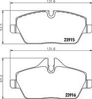 Mintex Front Brake Pad Set MDB2682  - BRAND NEW - GENUINE - 5 YEAR WARRANTY