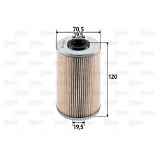 Kraftstofffilter - Valeo 587913