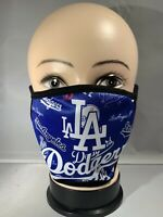 Los Angeles Dodgers Adult Reusable Cloth Face Covering /Washable/Handmade