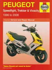 Peugeot Speedfight, Trekker & Vivacity Haynes Service & Repair Manual